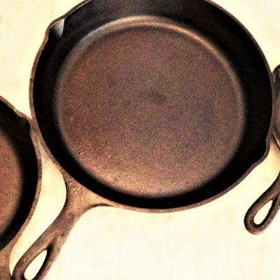 Seasoning Cast Iron Skillets