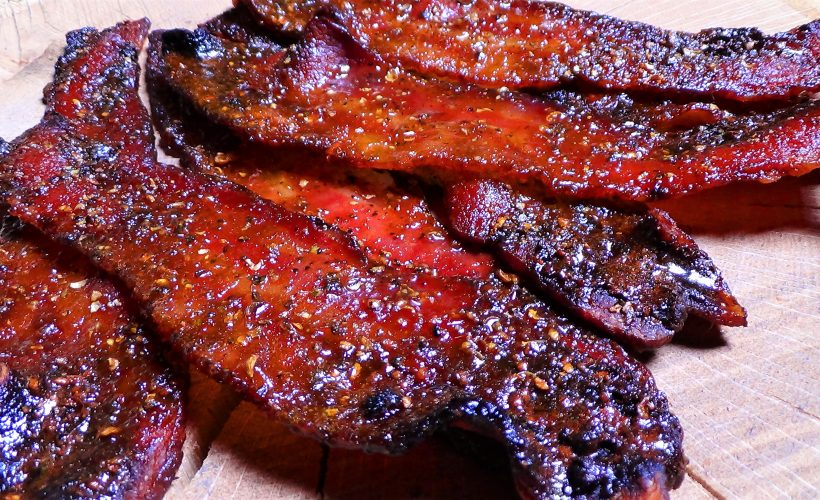Maple, Bourbon & Black Pepper Bacon