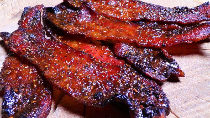 Maple, Bourbon & Black Pepper Bacon