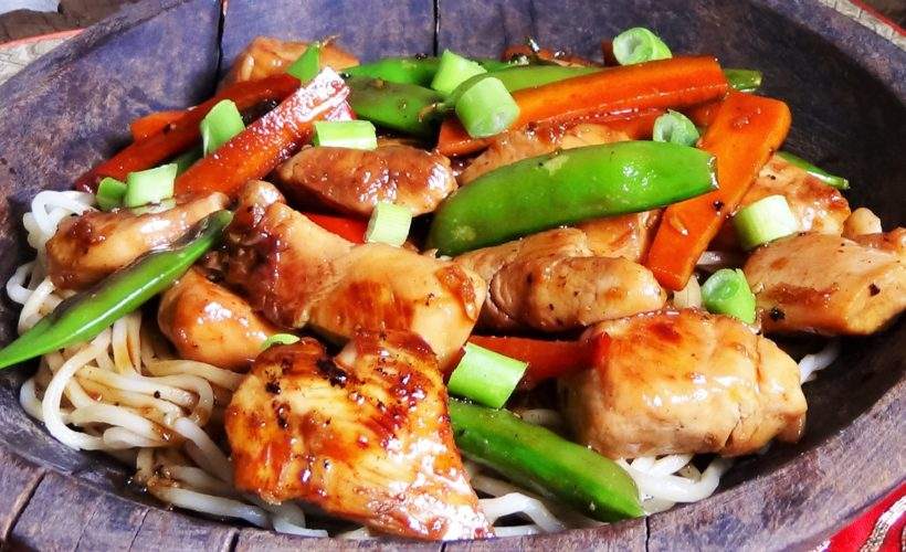 Teriyaki Chicken Noodle Bowl