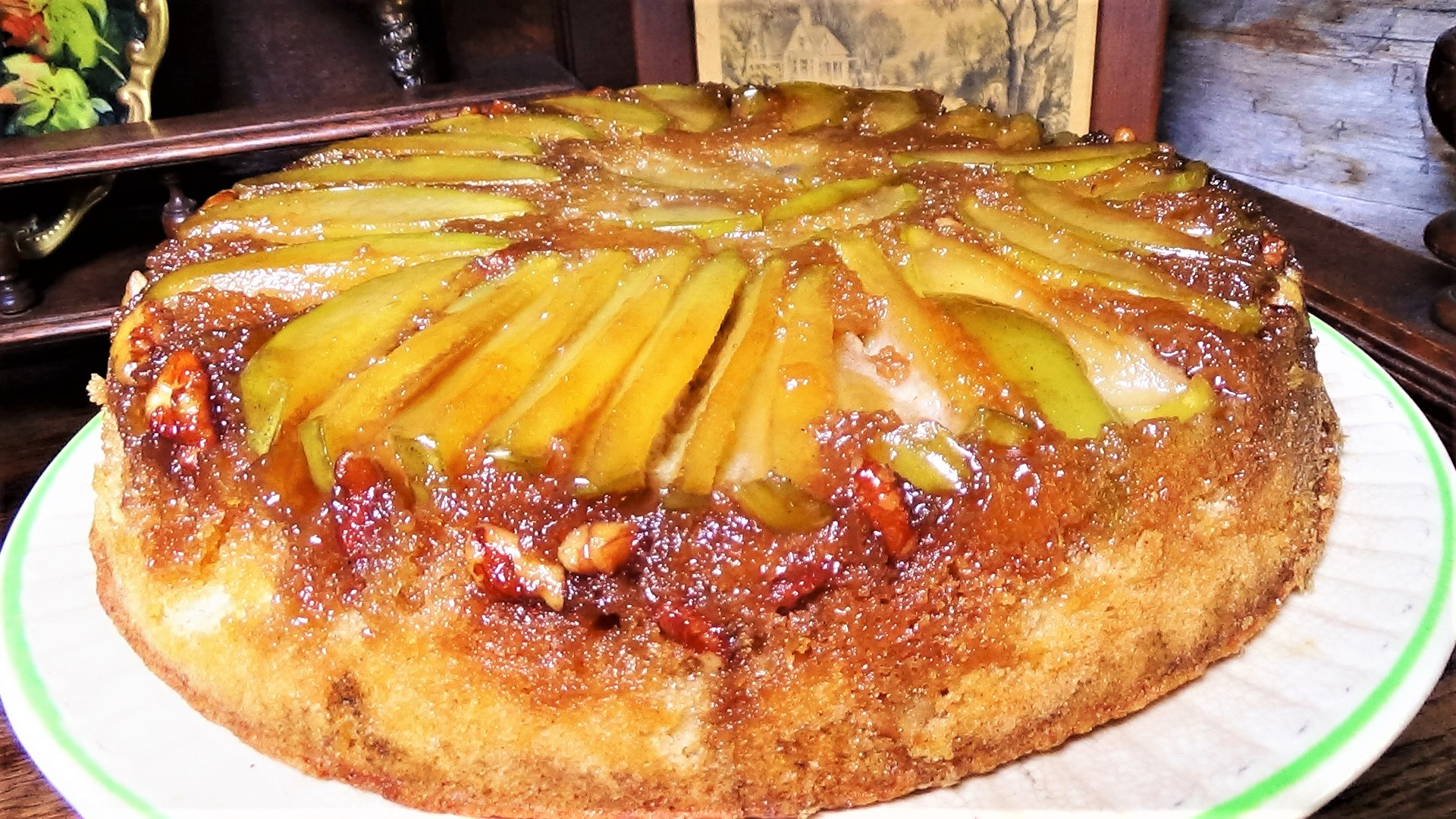 Apple, Maple, Upside-Down Cake