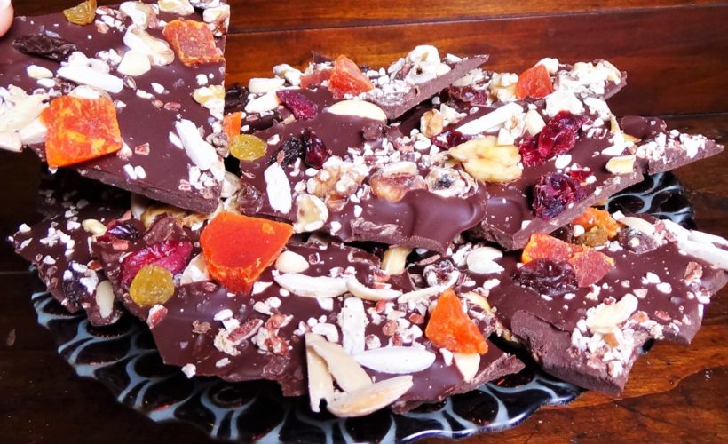 Fruit & Nut Chocolate Bark
