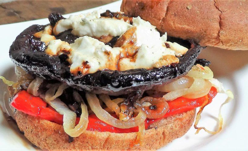 Portobello Burger Deluxe!