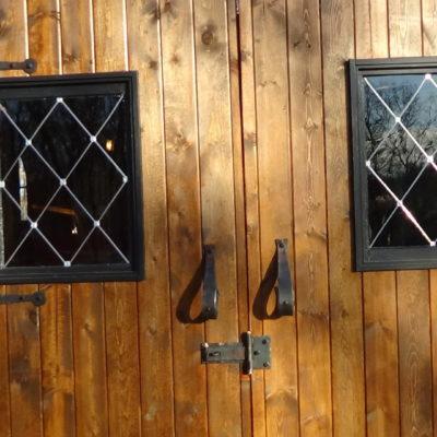 Diamond Paned Windows