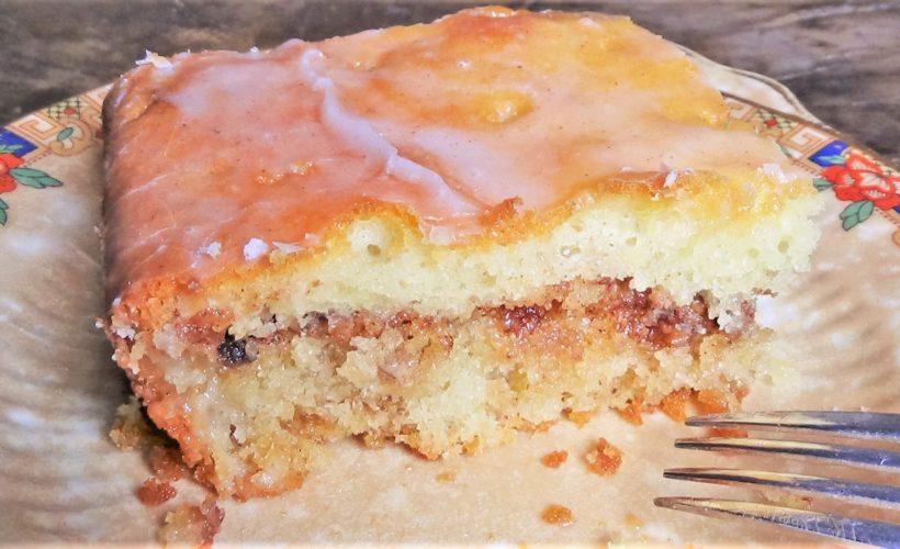 Fresh Shredded Apple Cake Recipe