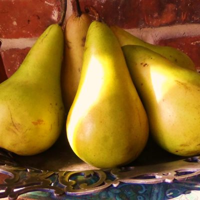 'Tis The Season For Pears!